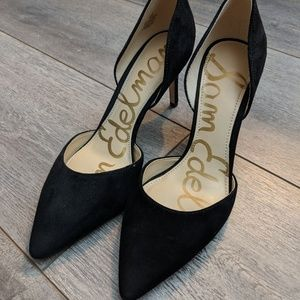 NWOT Sam Edelman Telsa black pointy toe heels